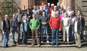 Die Teilnehmer des 32. Arbeitskreistreffens in Köln
