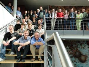 Die Teilnehmer des 34. Arbeitskreistreffens im MARUM in Bremen (Foto: M. Huch)